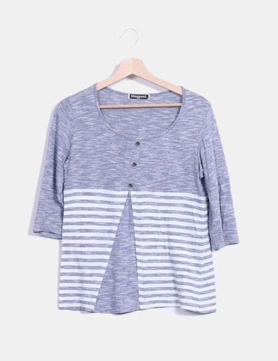 Top tricot de rayas Blay Moda & Punt