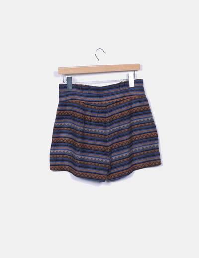 Short tricot etnico
