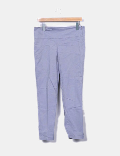 Pantalon gris droit Benetton