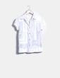 Camisa blanca detalles plateados Custo Barcelona