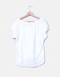 Camiseta blanca de manga corta CTF