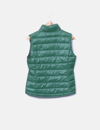 Chaleco verde impermeable