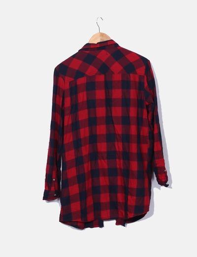 49a0597008ba8 Primark Camisa de cuadros roja y negra (descuento 77%) - Micolet