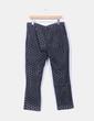 Pantalón negro de crochet Cortefiel
