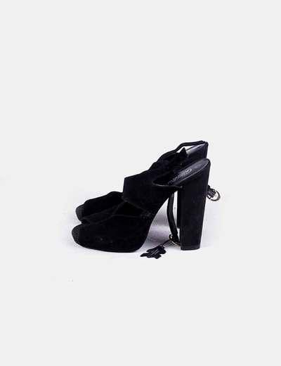 Chaussures noires à talons Gorgeous