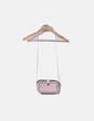 Bolso mini rosa con cadena Zara