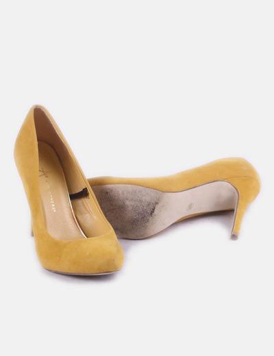 nuevo producto ec10a 286a6 Zapatos salón mostaza