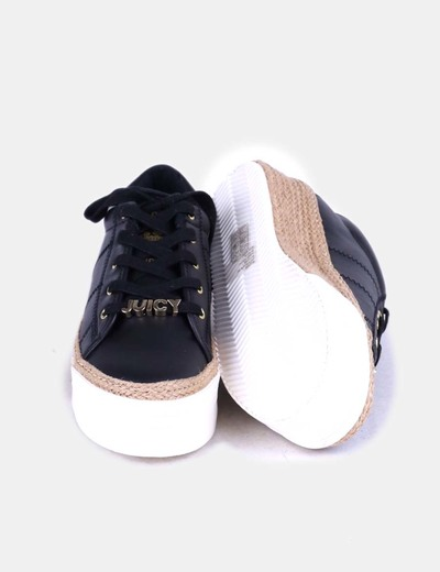 Zapatillas negras con plataforma