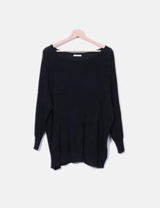 Suéter tricot negro Belcci d9b1bde28087