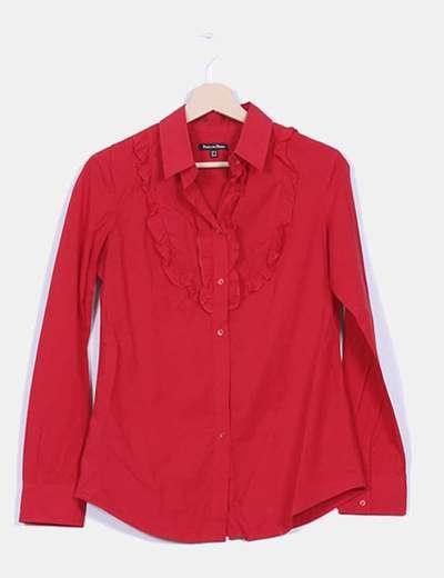 Camisa roja manga larga Pedro del Hierro
