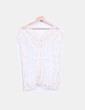Blusa color crudo de crochet LELY WOOD