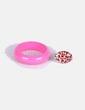 Conjunto de pulsera y anillo animal print NoName