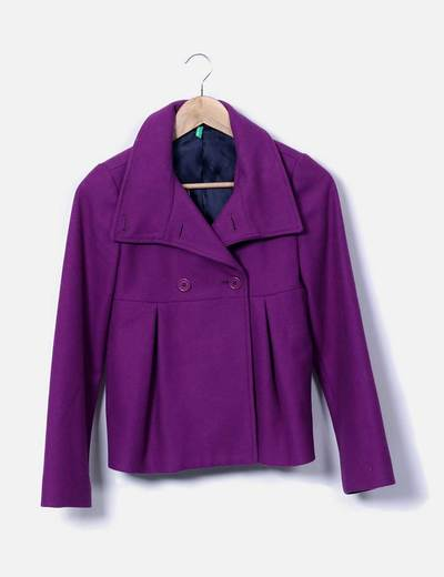 Poil court violette Benetton