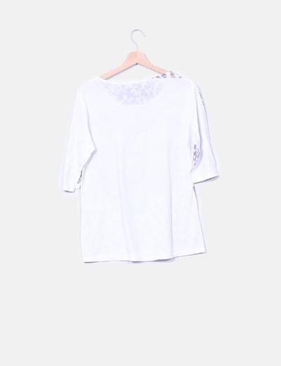Camiseta print leopardo