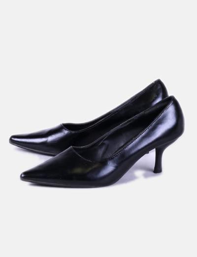 Zapatos heels negros Tintori