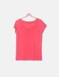 Camiseta tricot rosa New-Epoch