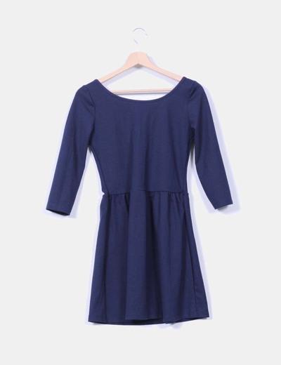 Vestido azul marino
