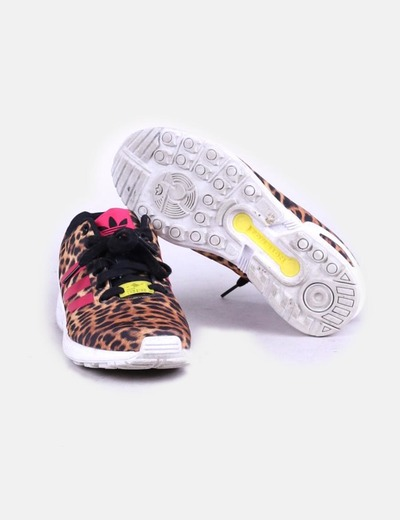 Deportivas adidas torsion animal print