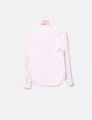 White striped salmon shirt Primark