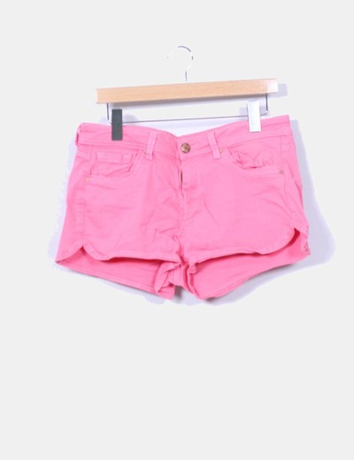 Short rosa Suiteblanco