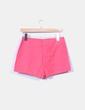 Shorts rosas con pinzas Suiteblanco