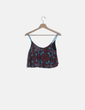 Crop top estampado Pull&Bear