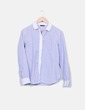 Camisa de rayas combinada Massimo Dutti