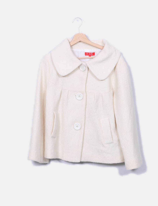 102fef41ba2 y de Mujer online Abrigos Abrigo blanco Derhy baratos Chaquetas 4wfqOz ...