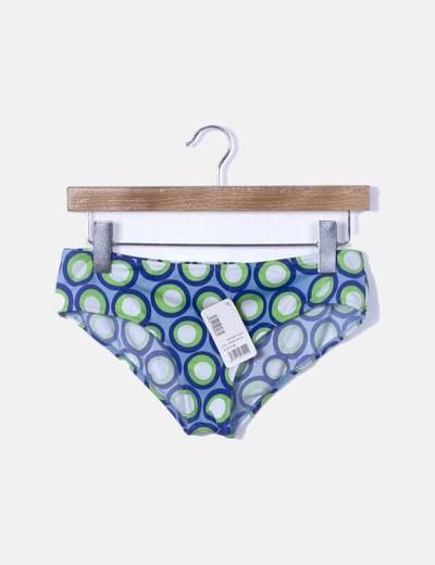 Braga bikini estampado