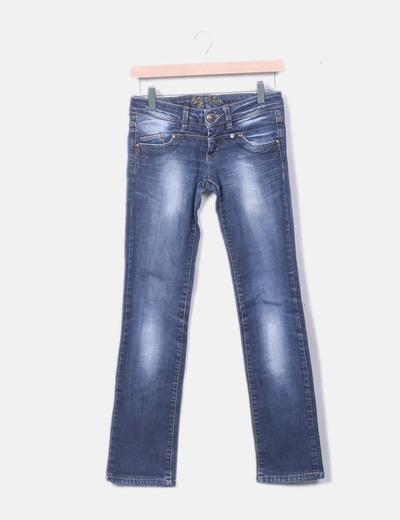 Jeans Big Da Pantaloni Donna Blue N8m0wn