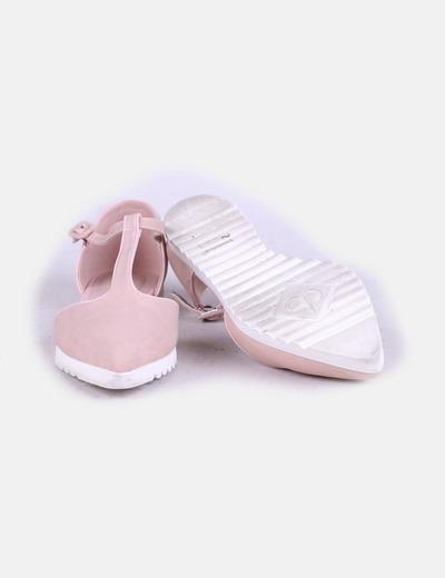 Sandalia rosa clara
