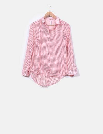 calidad gran variedad de mejor autentico Camisa rosa