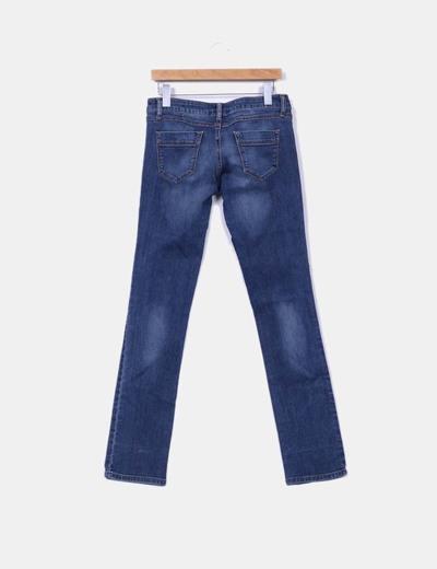 Jeans azul rectos