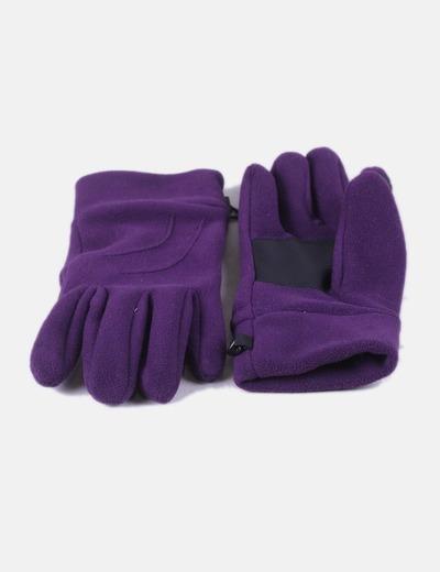 Gants violets Quechua