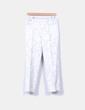 Pantalón beige texturizado Massimo Dutti
