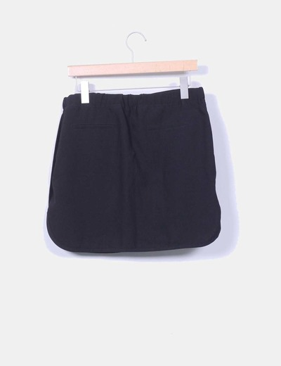 Mini falda negra