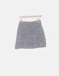 Conjunto de top y falda jaquard con pedrería Zara
