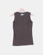 Camiseta marrón sin mangas estampado letras Oneill