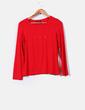 Camiseta roja con brillos Elena Miró