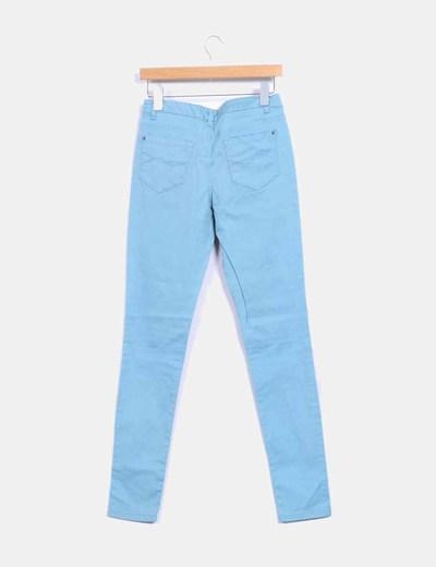Pantalon azul pitillo