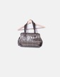 Tote bag monogram brown patent leather Pedro Miralles