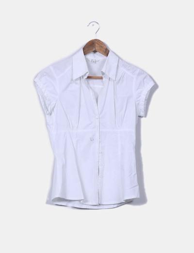 Blusa blanca Stradivarius