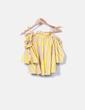 Blusa amarilla rayas NoName