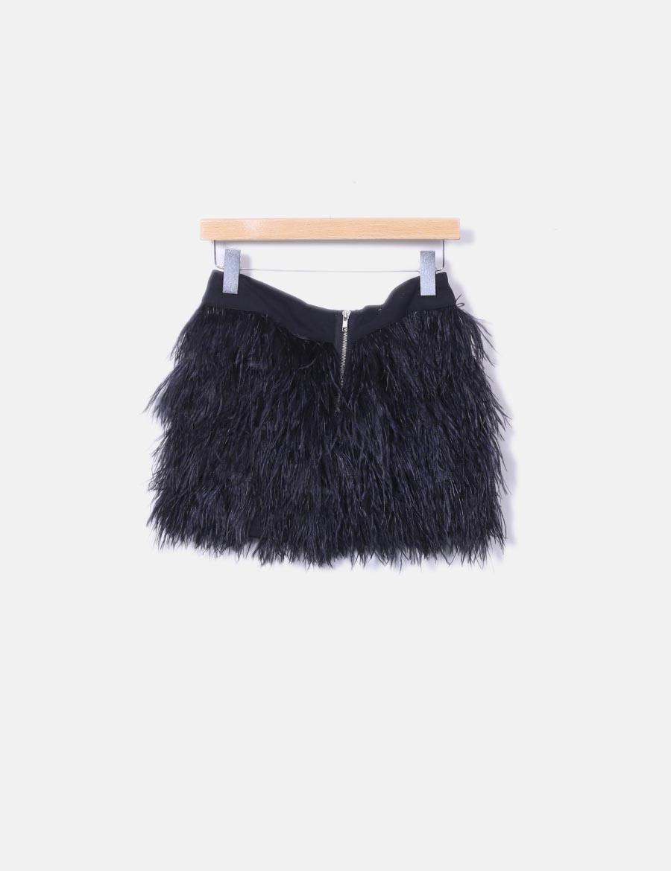 c9171b04a Faldas Zara online plumas negra baratas de Falda tCIRq1|negotiate ...