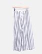 Pantalón culotte raya Pull&Bear