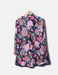 Vestido floral evasé Zara