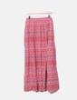 Maxi falda de vuelo en tonos rosas NoName