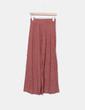 Falda larga jaspeada Zara