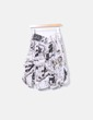 Falda midi print Desigual