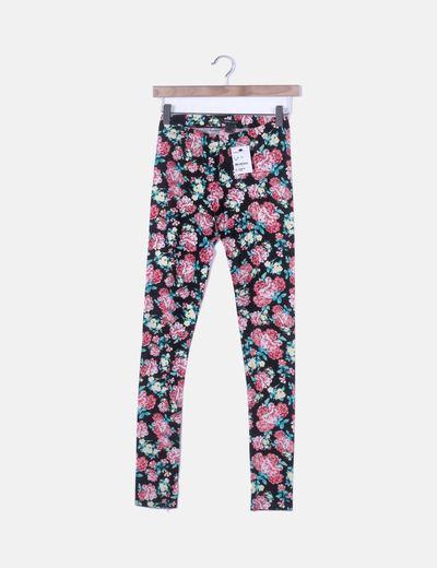 Legging largo floral